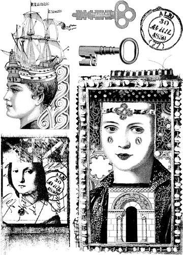 Lynne Perrella #010 for Paper Artsy