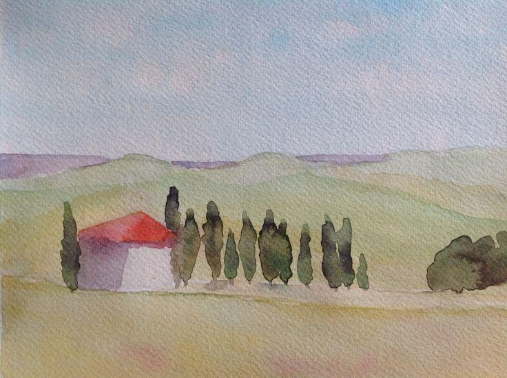 Tuscany by Lisbeth Watkins