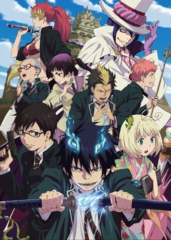 blue exorcist | Blue Exorcist Premieres On VIZAnime.com This Month | AWN | Animation ...