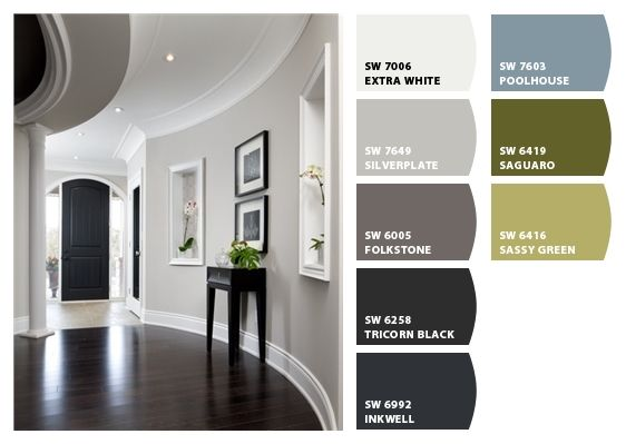 sherwin williams paint ideas88 best Sherwin williams paint colors images on Pinterest  Wall