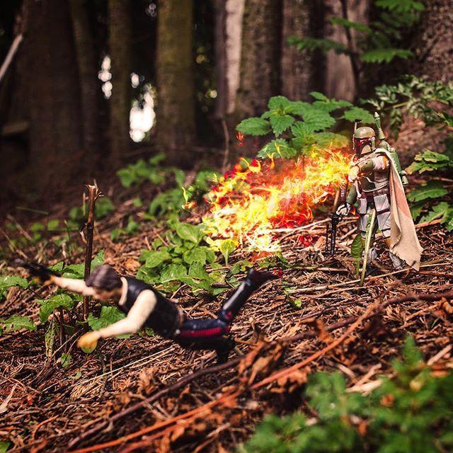Flame on! #starwars #starwarstheblackseries #starwarstoys #starwarstoypics…
