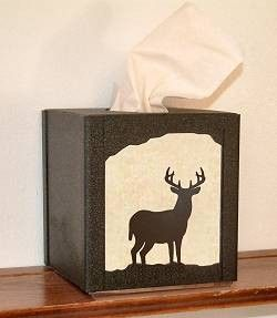The Big Red Neck Trading Post - Wildlife Decor Facial Tissue Box Cover, $32.99 (http://www.thebigrednecktradingpost.com/products/wildlife-decor-facial-tissue-box-cover.html)