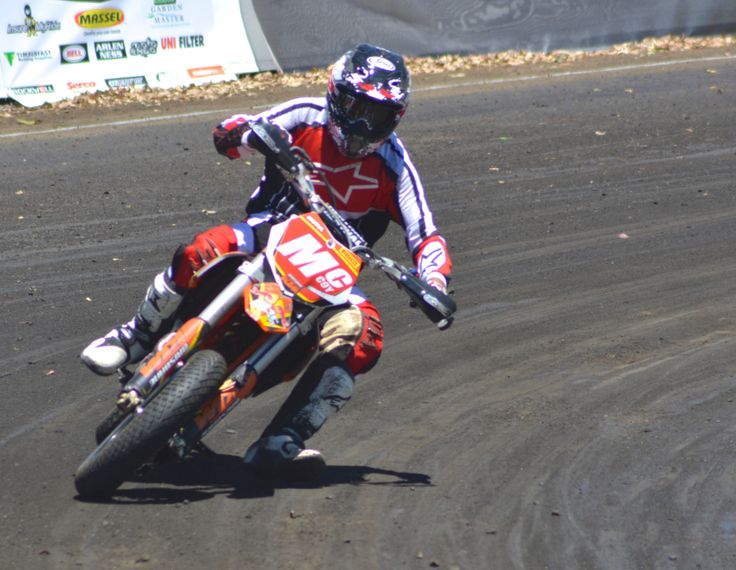 Garry McCoy in action