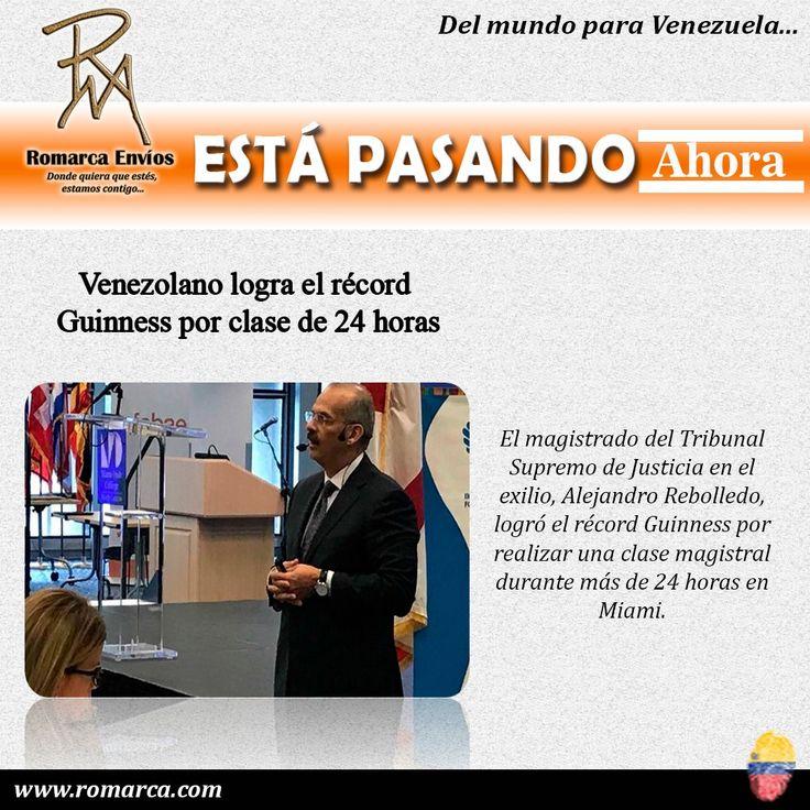 """""""Este es un honor a todos los venezolanos que han perdido la vida y han dado lo mejor de sí, porque estemos donde estemos, siempre habrá un venezolano dejando el nombre del país en alto"""", expresó. Cada día son más las personas que realizan sus transacciones con Romarca, sé parte de las +7200 transacciones realizadas con éxito. #Bolivares #Euros #Dolares #Pesos #Transacciones #Europa #Miami #Venezuela #Mexico #Francia #Panama #Caracas #Viena #España #Lisboa"""