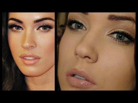 Megan Fox Makeup Tutorial - Red Carpet Glamour