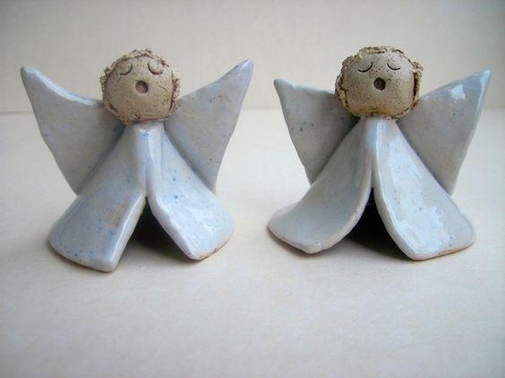 ☆ Kleines Engelchen ☆ Keramik von Beck-Keramik auf DaWanda.com: