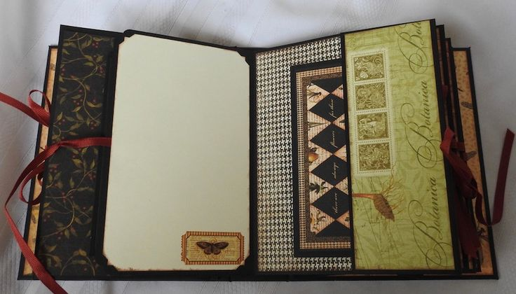 Clare Charvill Organiser w Graphic 45's Botanicabella pt11