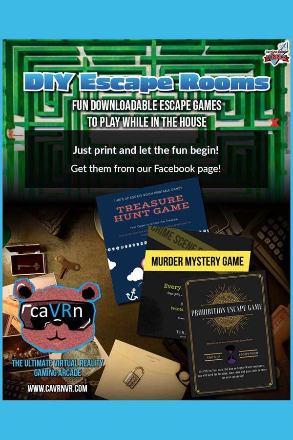 Diy Escape Room Games Escape Room Game Game Room Family Escape Room