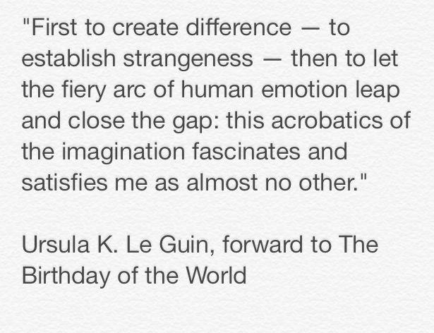 Ursula Le Guin quote