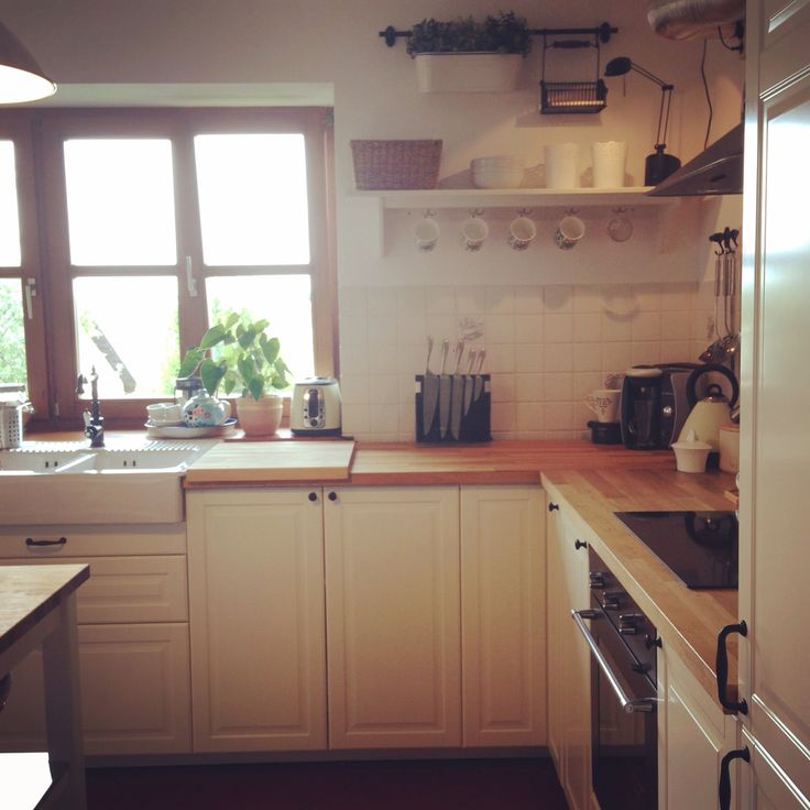 Traditional Shaker Style Kitchen Off White Doors