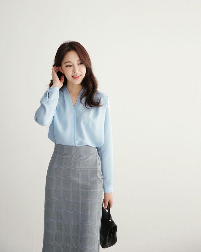 4 gam màu tươi sáng, nổi bật đảm bảo gọi nắng về gần hơn với nàng công sở - Ảnh 14. | Trang phục đi làm in 2019 | Fashion dresses, Skirt fashion, Korean fashion work