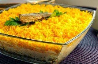 Поварешки: Вкуснейший салат со шпротами!
