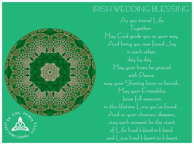 Irish Daughter Wedding Day Wish