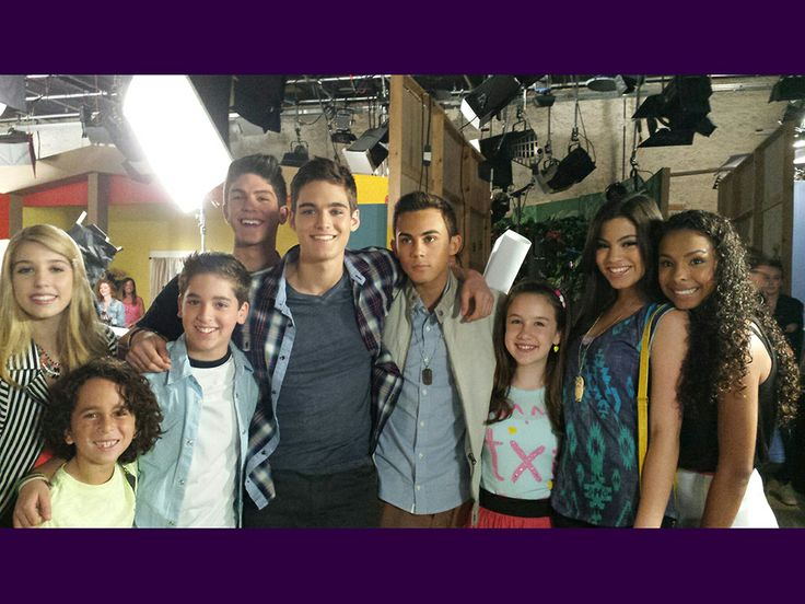 Every Witch Way Cast   Quiet on Set! Back on set and still smiling! Well, mostly… cheer up ...