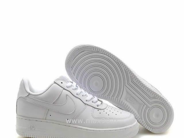 Nike Air Force 1 Basse '07 Tous Blanc Chaussure pour Femme Air Force Pas  Cher