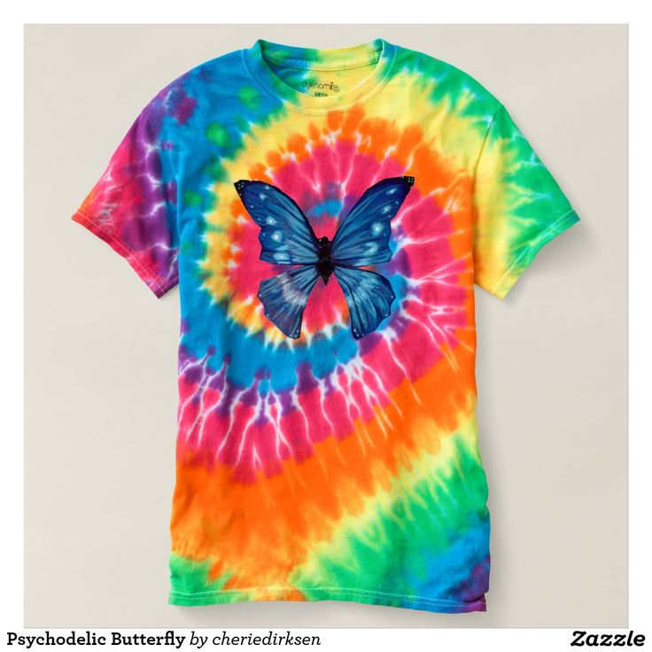 Psychodelic Butterfly t-shirt