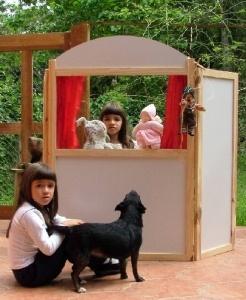 Resultado de imagem para crianças apresentação de marionetes,