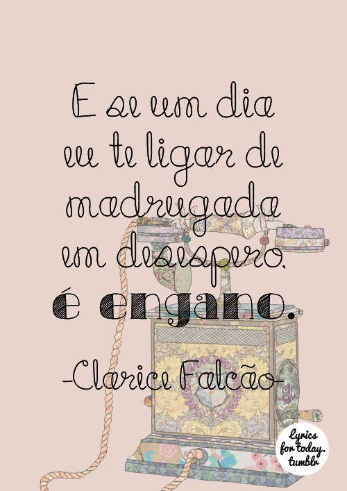 Clarice Falcão - Eu esqueci você