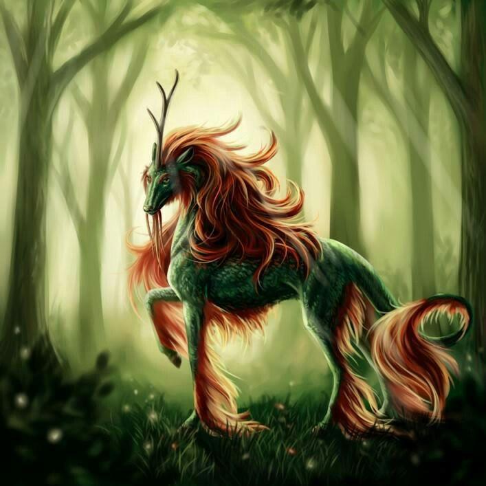 мистические существа фото и названия так