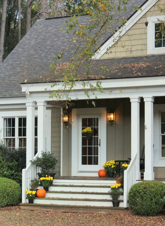 Talk Of The House Front Steps For Fall Porches And