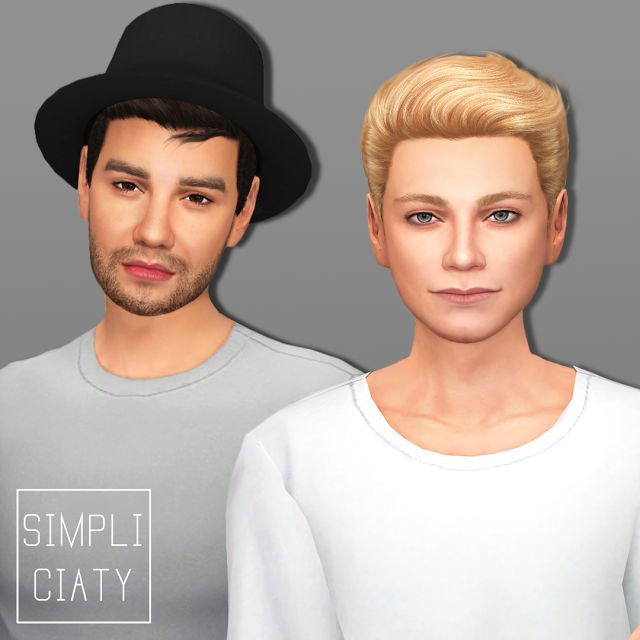 Sims 4 CC's - The Best: ONE DIRECTION + ZAYN MALIK by Simpliciaty