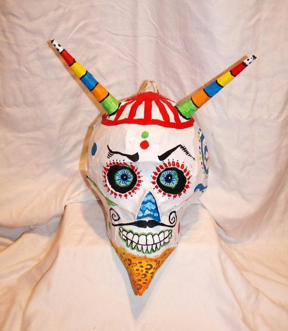 Sugar skull pinata.: Dead Party, Holidays Dia Los, Los Meurto, Pinata, Mexicans Folcklor, Foto Shooting, Dead, Muertos Foto, Party Props