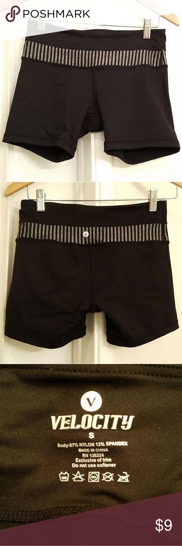 Velocity Black Spandex Biker Running Shorts In excellent condition, like new! On…   – Biker Shorts