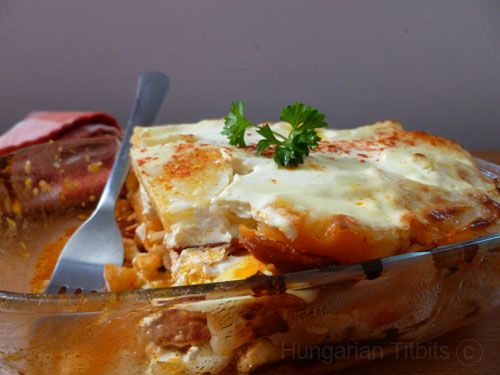 A Hungarian culinary tasty classic that is not difficult to make, though takes a little bit of preparation and cooking time. As a popular family meal and children's favourite, it makes a goo…