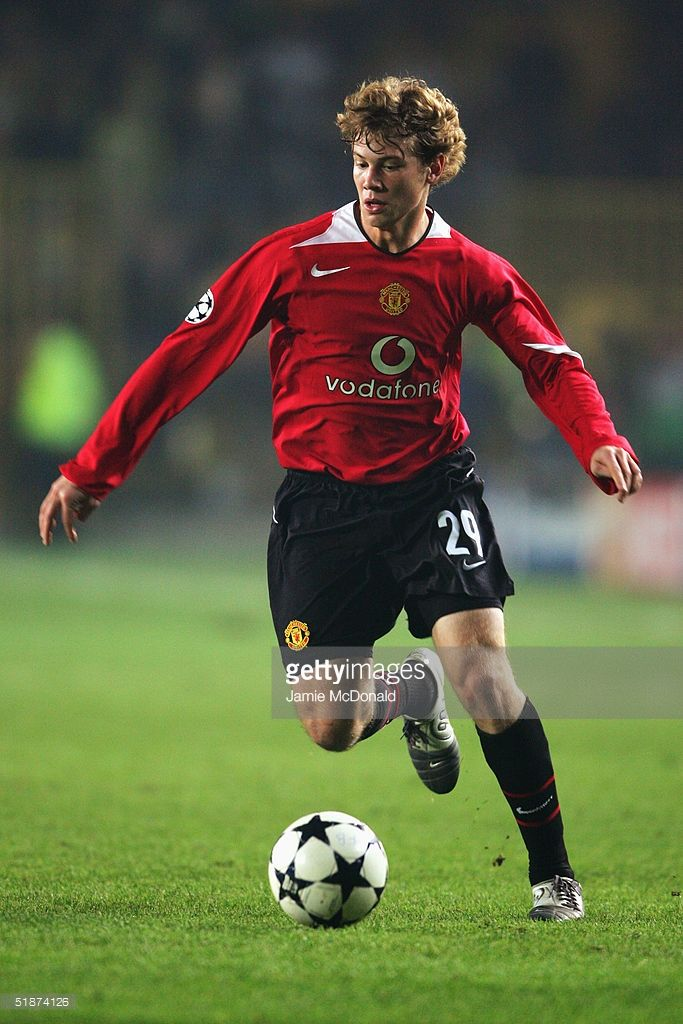 Jonathan Spector of Manchester United in action during the Champions League Group D match between Fenerbache and Manchester United at Fenerbache Sukru Saracoglu Stadium on December 8, 2004 in Istambul, Turkey.