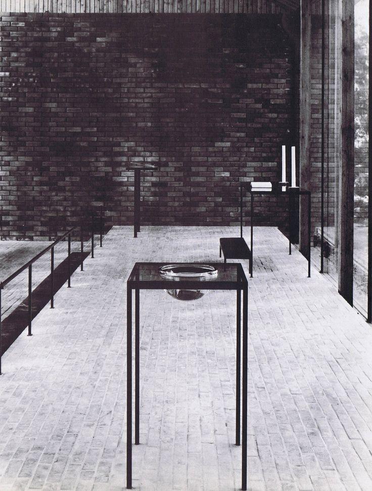 Siren > Otaniemi Chapel. 1957