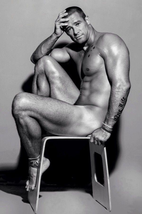 brian j white poses nude