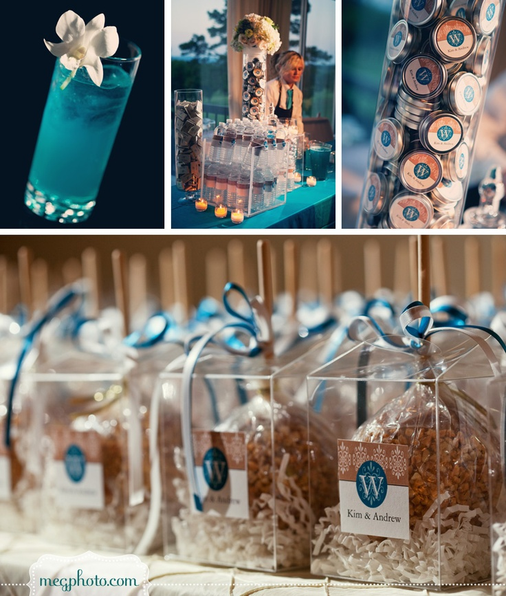 107 best wedding favors images on pinterest wedding for Candy apple wedding favors