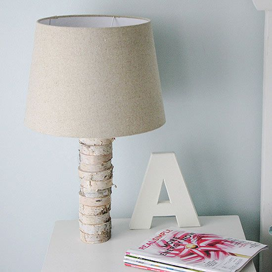 Believe it or not, the Anthropologie version of thisDIY lampcosts 15 times more than the reproduction! If you can wield a drill, you can make this pretty stacked wood accessory using some birch wood slices, a lamp kit, and glue.