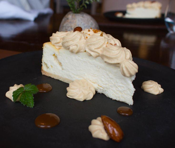 Provavelmente o melhor cheesecake que já comi, até agora, na vida. Queijo…