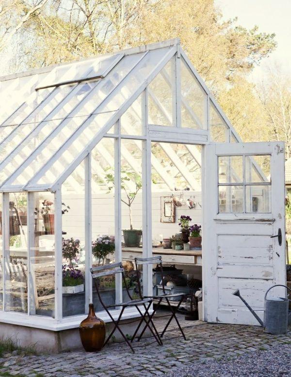 Die besten 25+ Glasgewächshaus Ideen auf Pinterest - tipps pflege pflanzen wintergarten