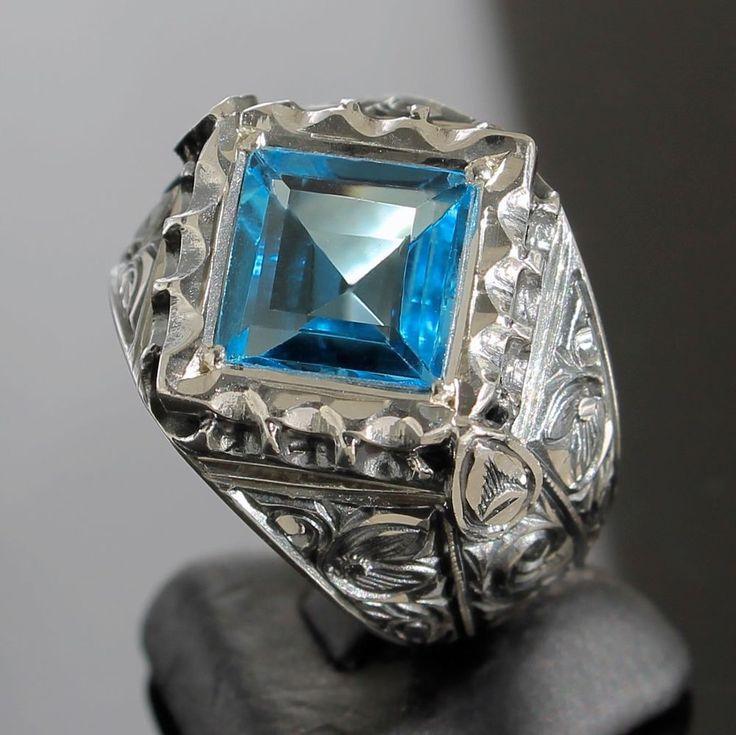 Silver Turkish Platinum: Best 25+ Unique Mens Rings Ideas On Pinterest