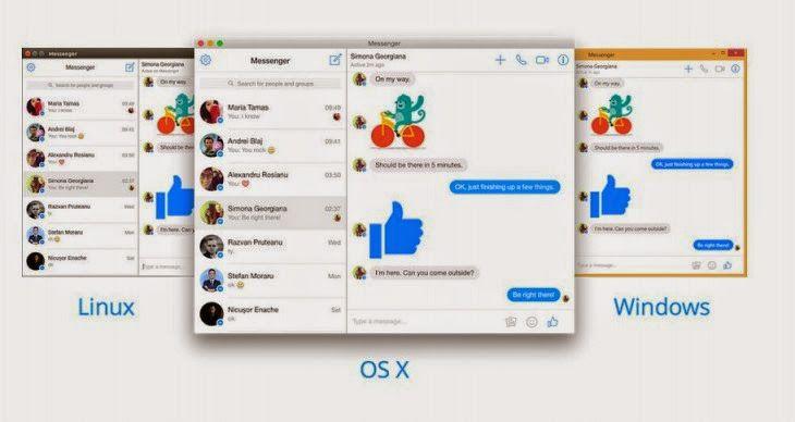 CompuTekni: Facebook Messenger ya cuenta con un cliente de escritorio
