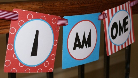.Kids Parties, Birthday Parties, 1St Birthday, Parties Ideas, Seuss Inspiration, Chairs Banners, Dr. Seuss, High Chairs, Birthday Ideas