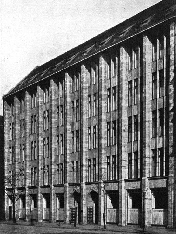 Lindenstraße 44-47.. Geschäftshaus Fischbach & Mendel