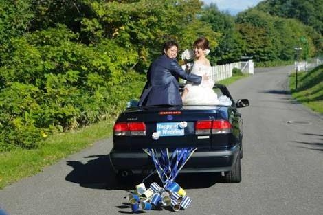 車 結婚式 - Google 検索