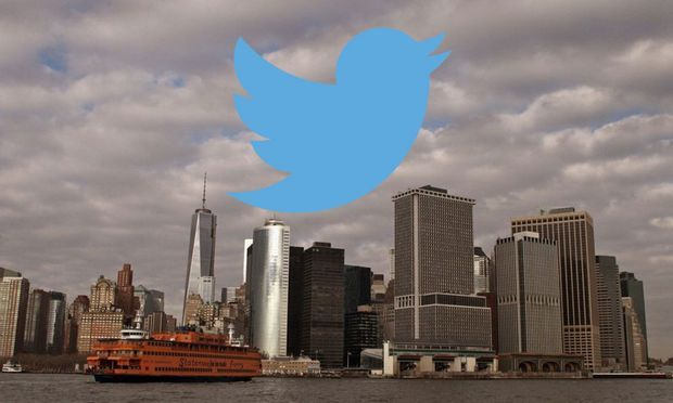 Twitter in the city.