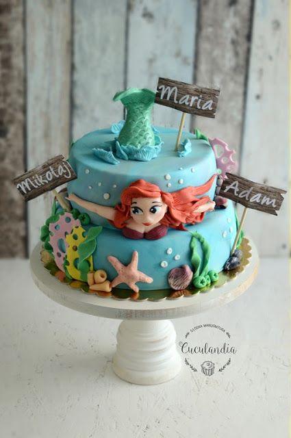 Cuculandia: Ariel cake