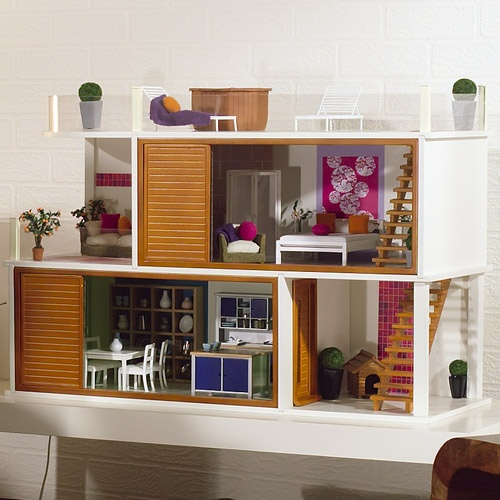 contemporary dollhouse furniture. Thereu0027s Another New Modern Doll House On The Market Called Ocean Drive Form Dolls Emporium Itu0027s Already Painted And Just Needs Assembly Contemporary Dollhouse Furniture E