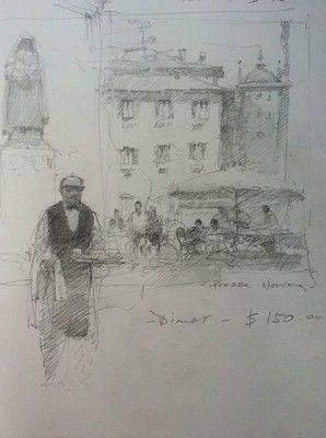 Joseph Zbukvic - sketchbook: