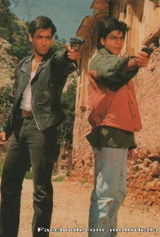 KARAN ARJUN , OLD TIMES WHEN THEY WERE TOGETHER