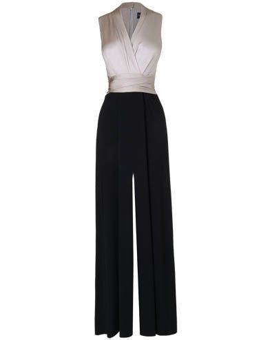 womens blackchampagne amanda jumpsuit phase eight 110