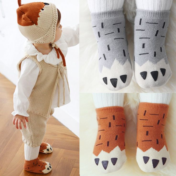 1 Pairs Baby Infant Kids Toddler Girls Boys Foot Sock Leg/Arm Warmers Soft Tights L07