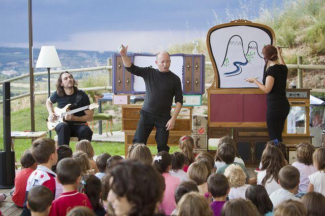 Teatro infantil: Madera y sol | Flickr: Intercambio de fotos Foto de La Rioja Capital / Rafa Lafuente