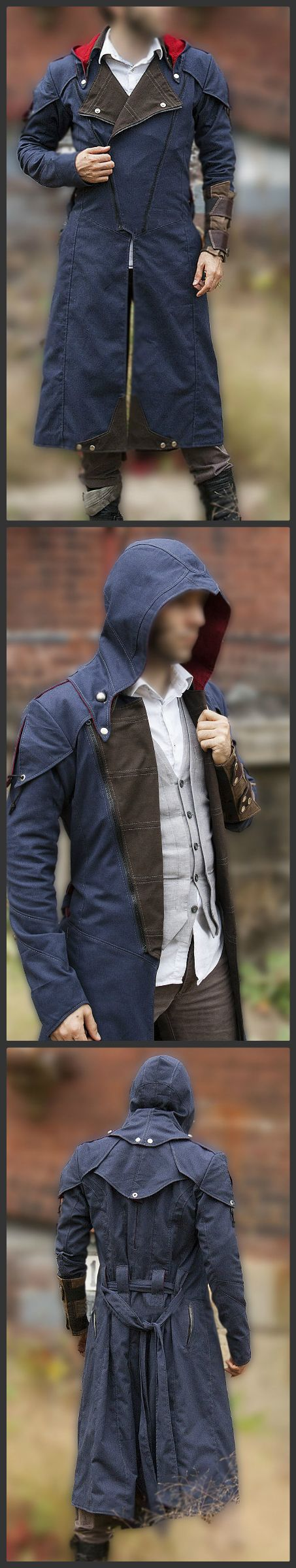 Check out our new collection of Denim from the Top Rated Game Assassin Creed now available in our store. Shop Now Assassin's Creed Unity Denim Cloak Cosplay coat with Hoodie at discounted price. #assassin #assassincreed #toprated #games #videogames #celebrity #fashion #denim #denimcoat #likeforlikes #fashionbloggers #blogger #like4likes #creed #creedunity #like #love