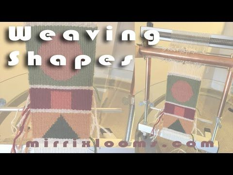 Tapestry Unlimited Blog Tour: Weaving Shapes - YouTube